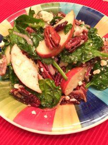 salade épinards 2 lesclaudines