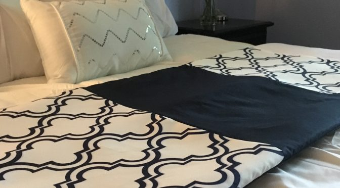 Comment faire un chemin de lit (bed runner)